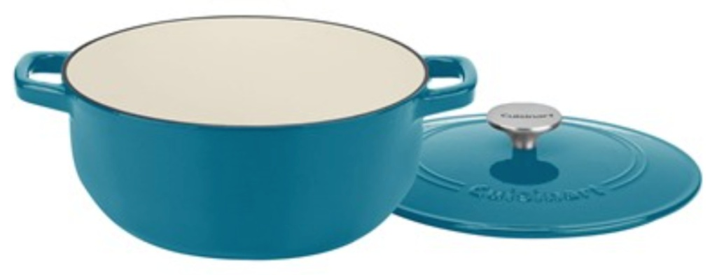 cuisinart pot with lid teal