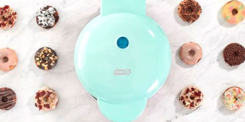 New Dash Mini Donut Maker from $13.99 + Free Shipping for Select Kohl's Cardholders