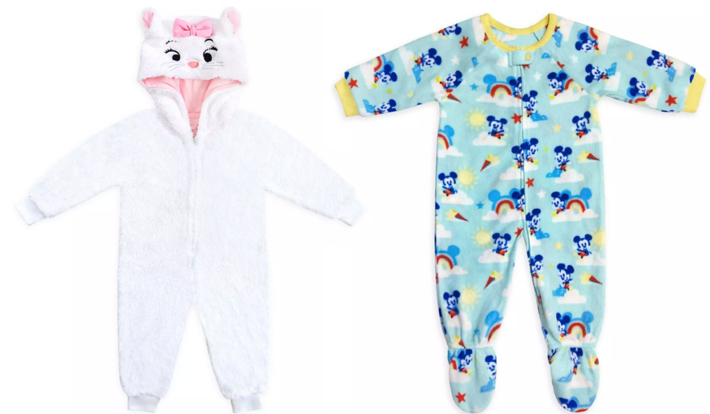 disney baby sleepers marie and mickey