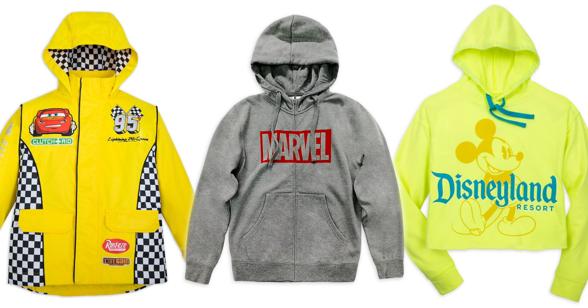 stock images of disney and marvel hoodies and jackets