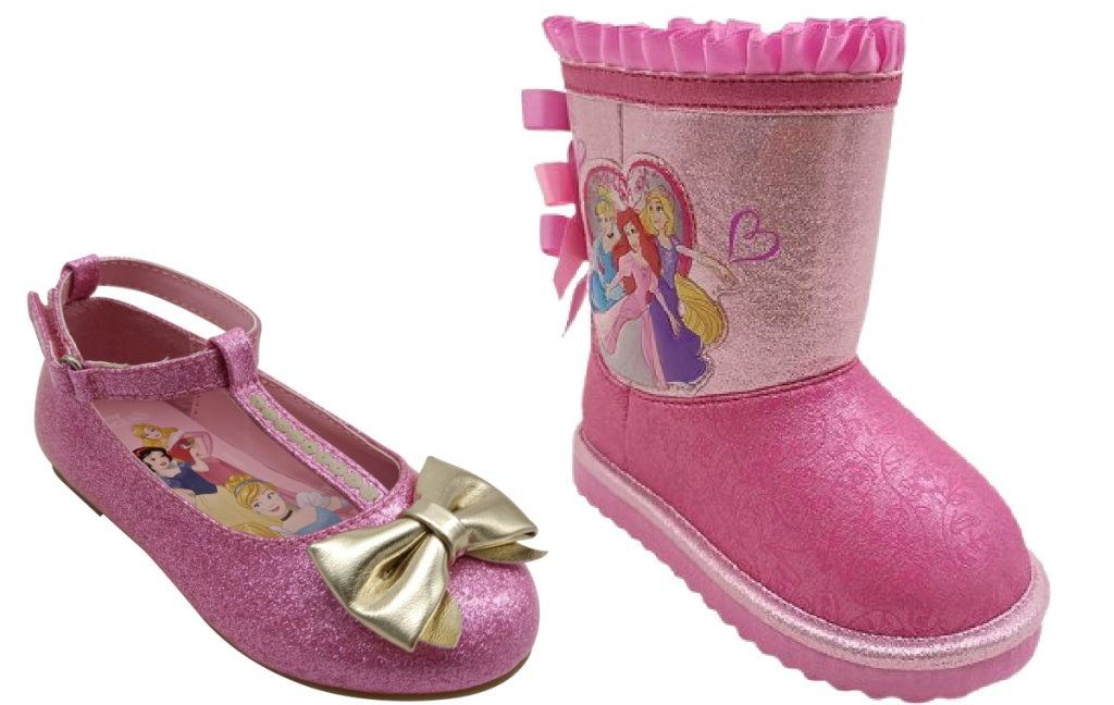 disney princess flats and winter boots