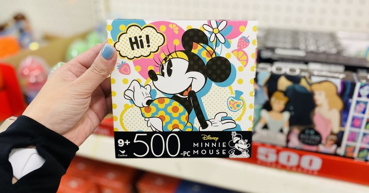 Minnie 500-piece puzzle box