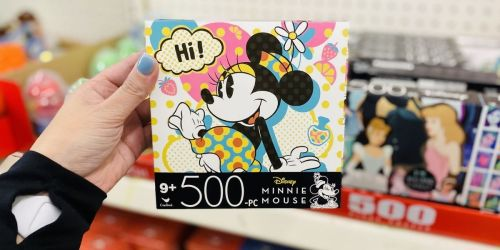 Disney Jigsaw Puzzles Only $1 at Dollar Tree