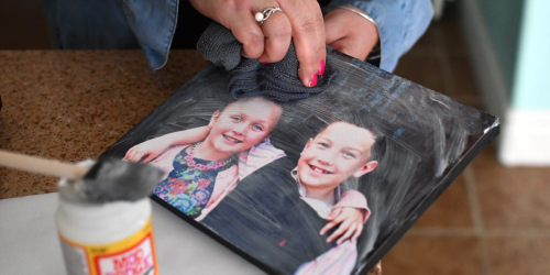 Save BIG By Making Your Own DIY Photo Canvas – It's Easier Than You'd Think!
