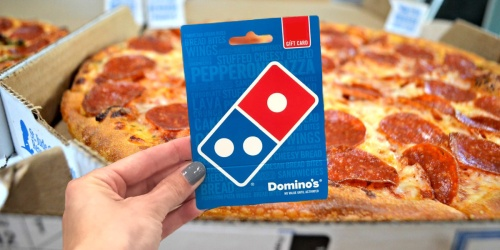 $45 Worth of Domino's Pizza Gift Cards Just $35.99 Shipped + 50% Off First Time App Orders