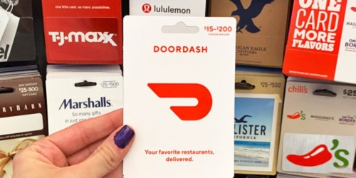 $50 DoorDash eGift Card Only $45 on BestBuy.com+ More Gift Card Deals