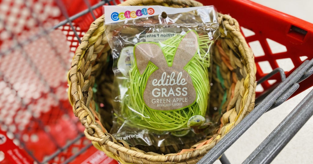 edible grass in target cart