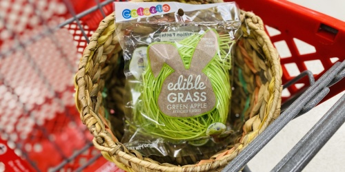 Make Eggs-tra Special Easter Baskets With This Edible Grass From Target | Just $2 Per Bag!