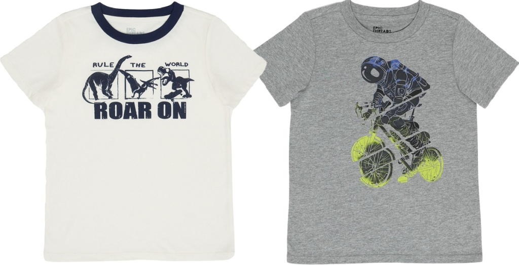 epic threads kids tee shirts from macy's