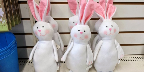 Plush Easter Bunnies Only $1 on DollarTree.com