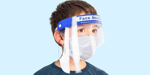 Kids Protective Face Shield Just 80¢ on Amazon
