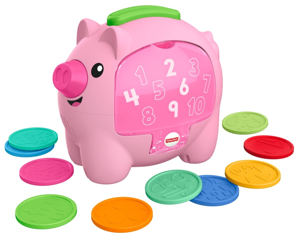 fisher price piggy bank toy