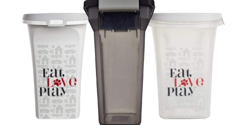 Pet Food Storage Containers from $6.74 Each on Petco.com