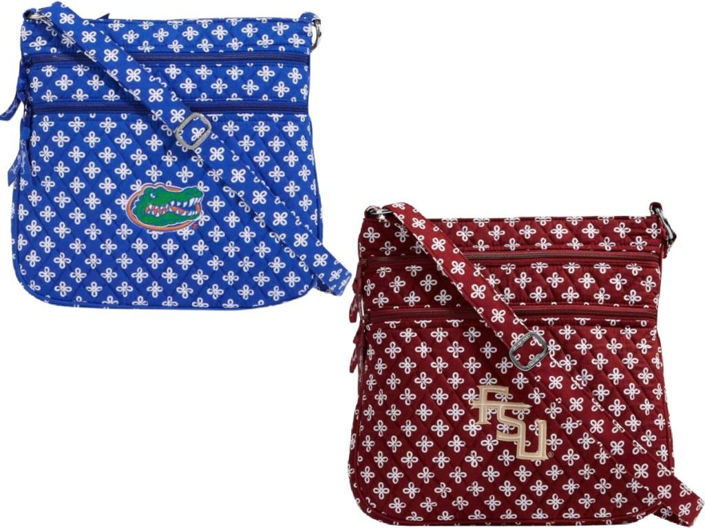 gators and fsu vera bradley purse