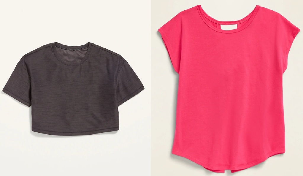 girls active tops at old navy