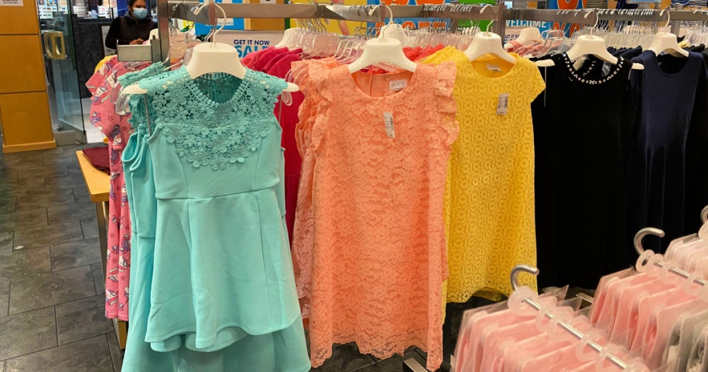 girls dresses at the children's place