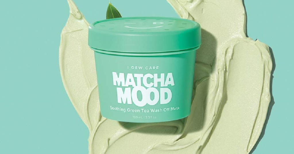 i dew care matcha mask
