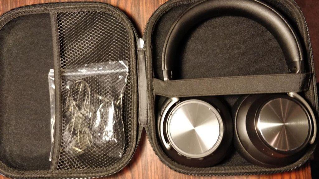 headphones in a case
