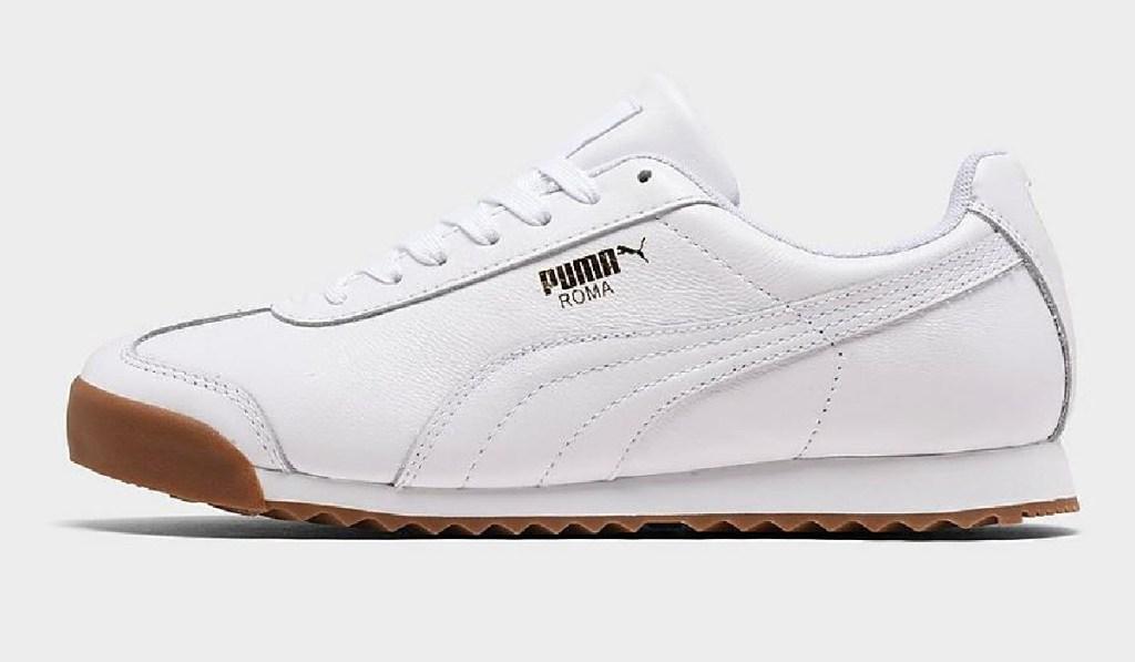 kems puma casual shoe white