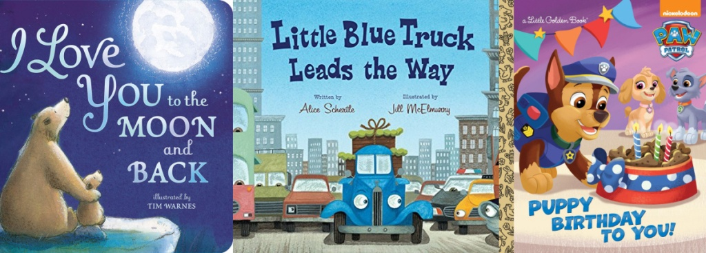 3 kids books little blue truck