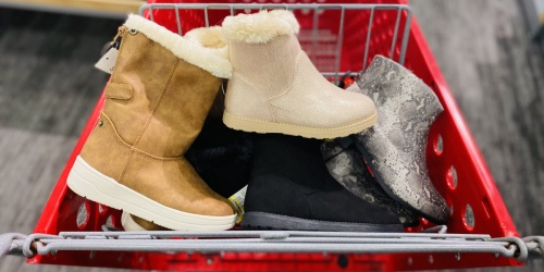GO! Up to 50% Off Kids Shoes at Target | Sneakers from $4.49, Boots from $12.49