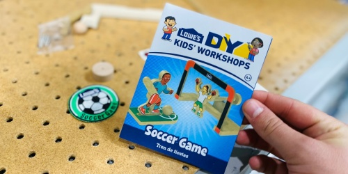 Register for a FREE Lowe's Kids DIY Take-Home Project
