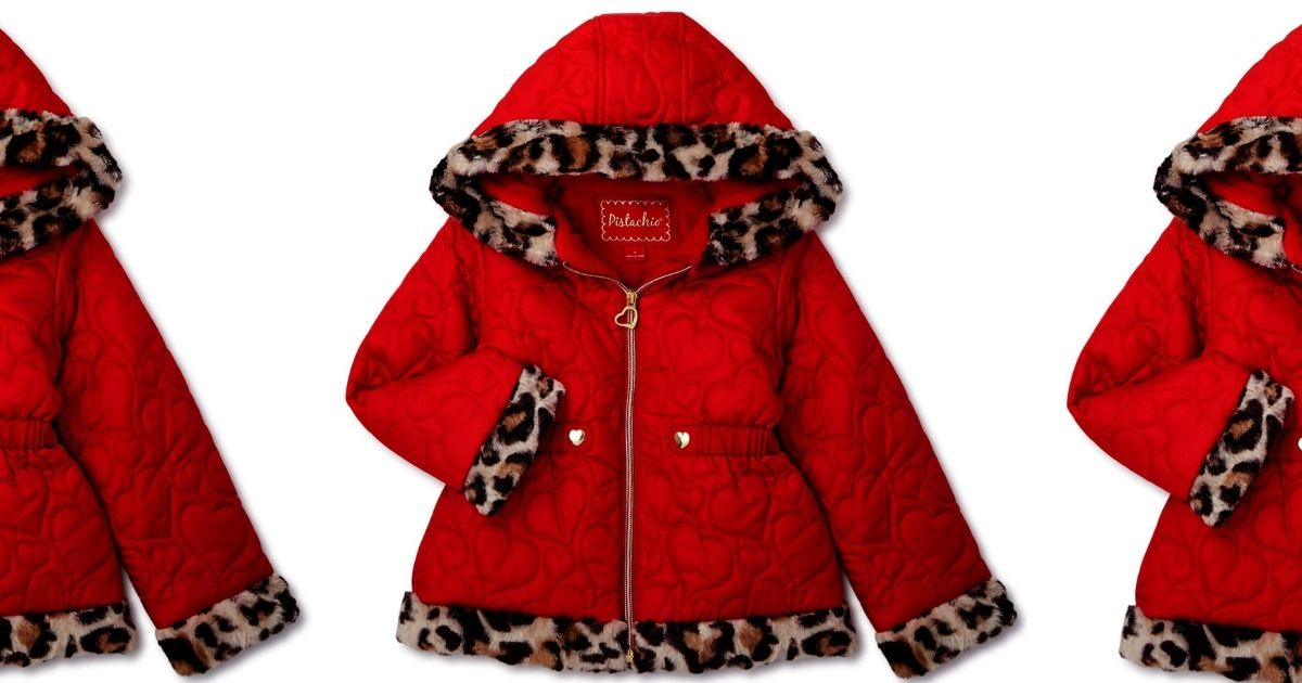 red heart and leopard jacket