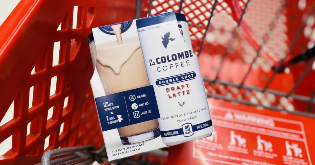 la columbe coffe drink in target cart