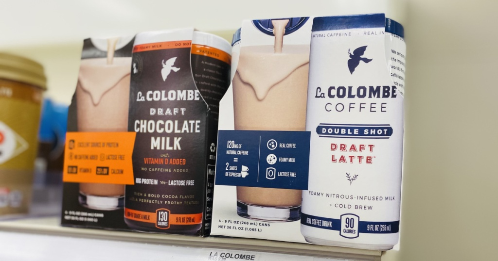la columbe coffee in store on shelf at target