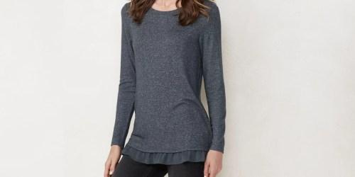 Lauren Conrad Women's Tunic Just $14 on Kohls.com (Regularly $40)