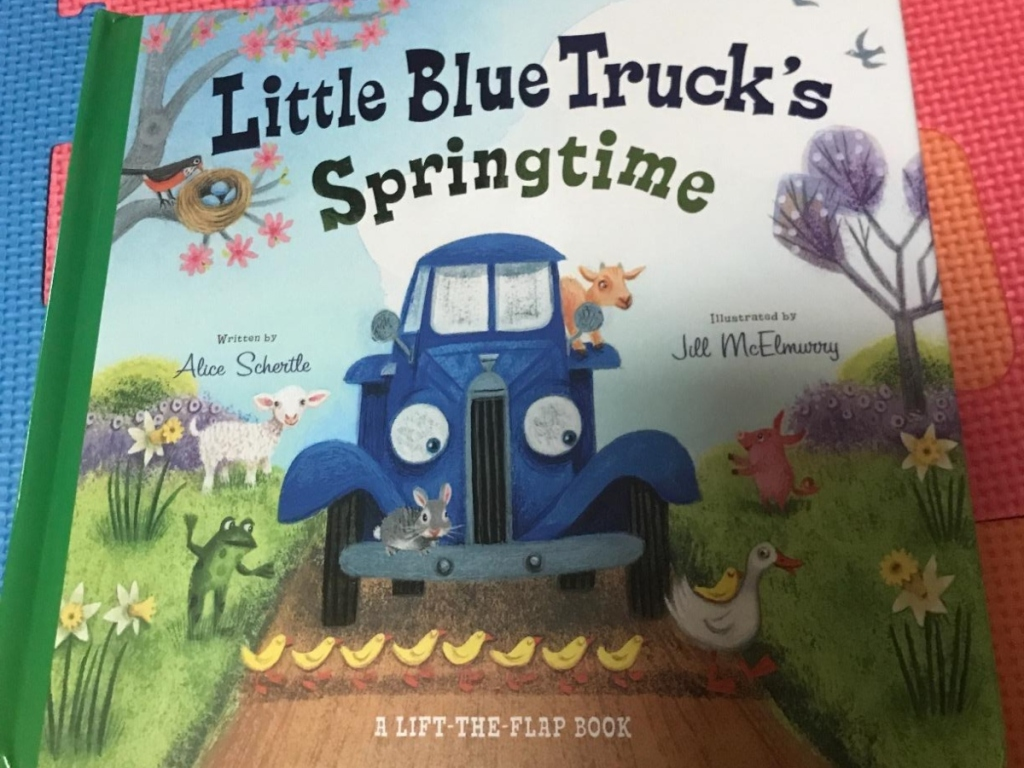 cover of Little Blue Truck book