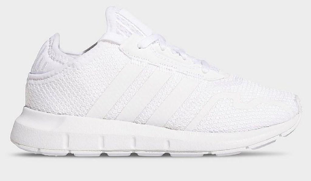 little kids white adidas