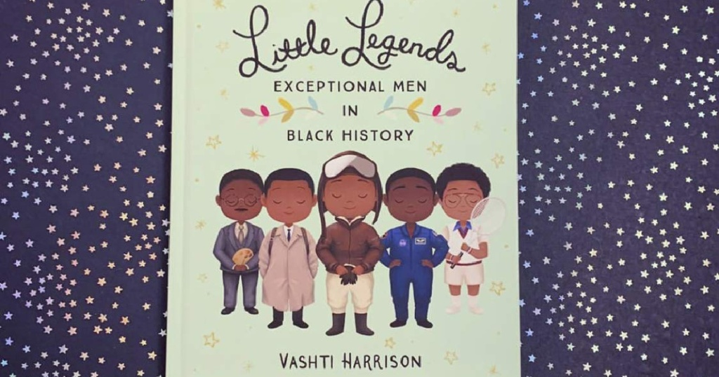 Little Legends: Exceptional Men in Black History Hardcover book cover