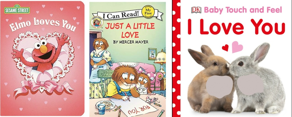 3 love board books