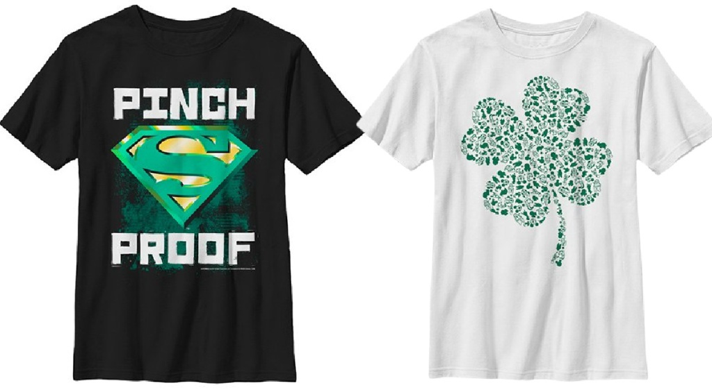 lucky st patrick's day tees