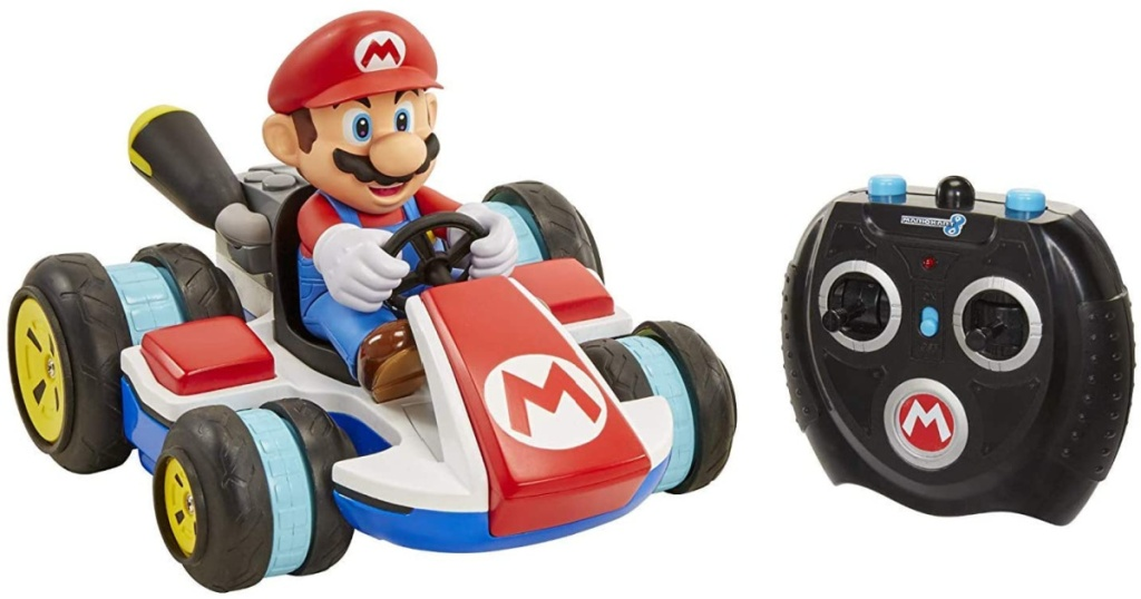 mario kart rc racer w: remote control shown