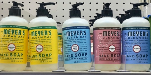Mrs. Meyer's Hand Soap 6-Pack Only $14.83 Shipped on Amazon (Regularly $21)