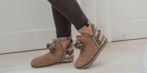 Muk Luks Women's Slippers Only $14.99 Shipped