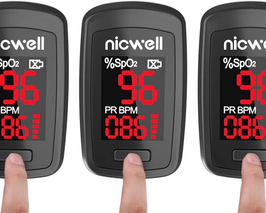 nicwell pulse oximeter