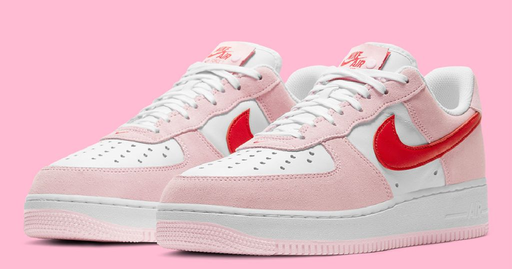 Nike Air Force 1 Valentine's Day shoes