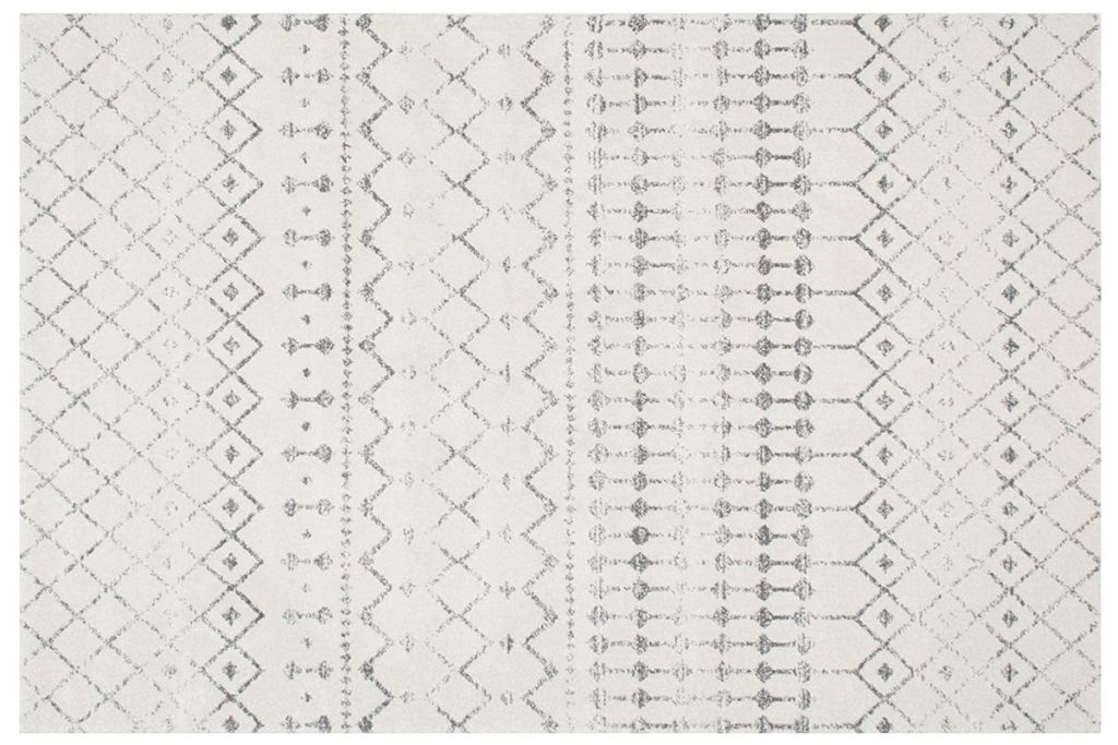 nuLOOM area rug grey/off white