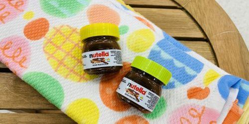 Mini Nutella Chocolate Hazelnut Spread Jars Just $1 at Target | Awesome Easter Basket Filler