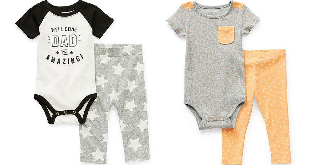 baby bodysuits and matching pants