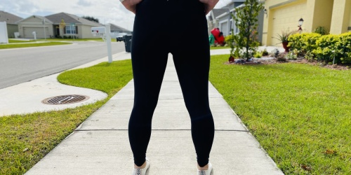 Old Navy Women's High Waisted Leggings w/ Hidden Pocket Just $10 (Regularly $27) | Sizes Up to 4X