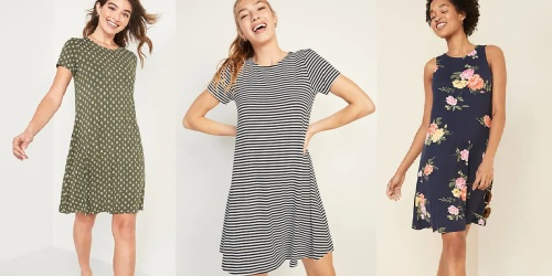 Old Navy Dresses from $6.40 (Regularly $17+) | Today Only