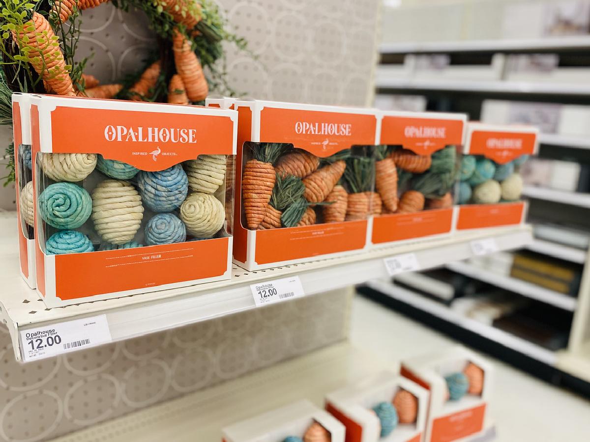 opalhouse easter garland at target on shelf