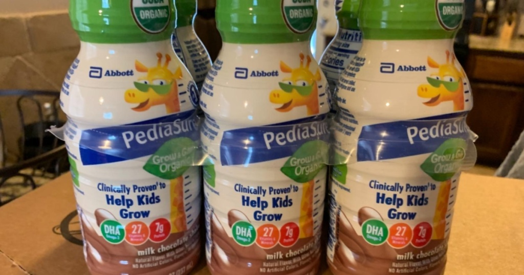 six pack of kids nutrition shakes