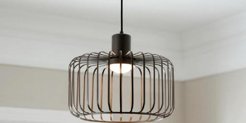 Bronze LED Pendant Light Only $44 Shipped on HomeDepot.com (Regularly $74)