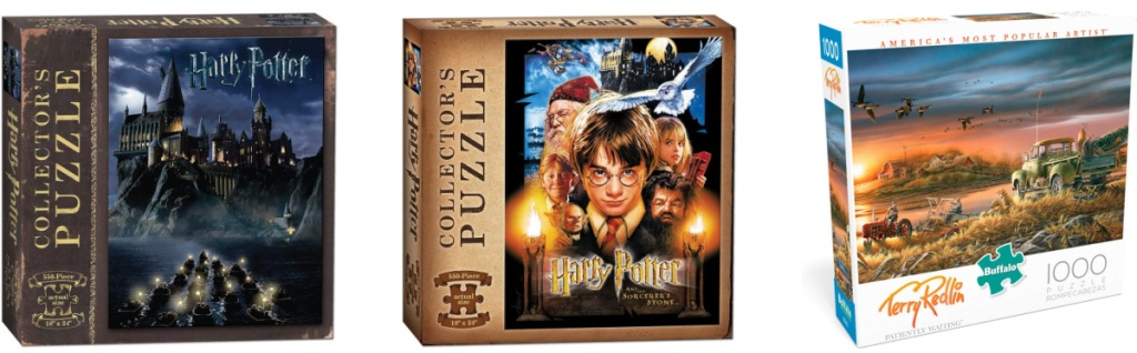 Harry Potter and Terry Redlin Patiently Waiting puzzles