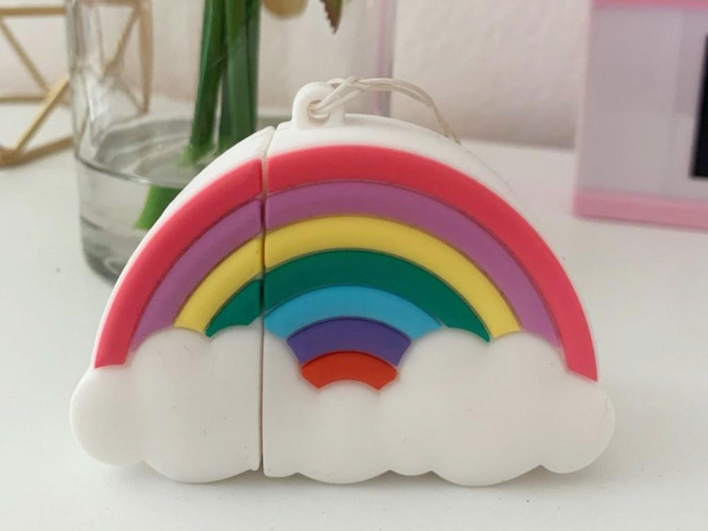 Rainbow AirPods case